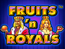 Автоматы Fruits And Royals Вулкан